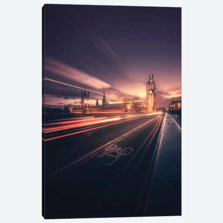 Big Ben Classic View 3-Piece Canvas #OXM5078} by David George Canvas Wall Art