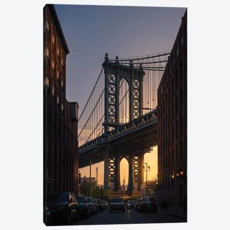 Bridge 3-Piece Canvas #OXM5080} by David Martin Castan Canvas Print