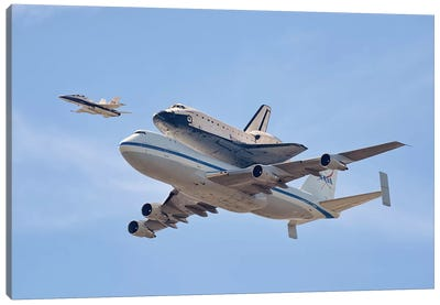Flying Into History Canvas Print #OXM508