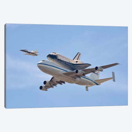 Flying Into History Canvas Print #OXM508} by Andrew J. Lee Canvas Print