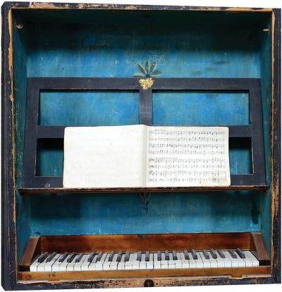 Music Box Canvas Art Print