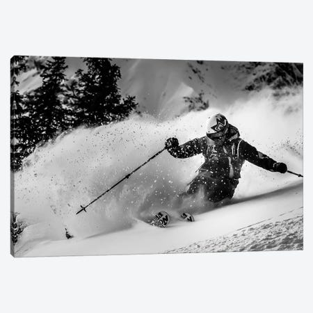 First Tracks.... Canvas Print #OXM5114} by Eric Verbiest Canvas Artwork