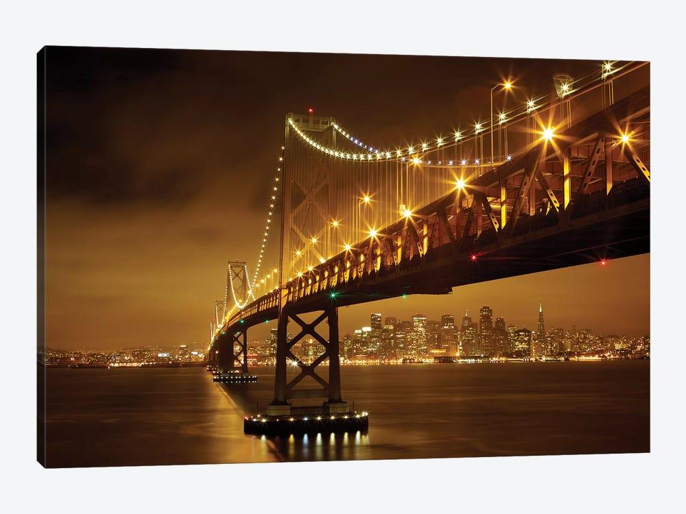 Bay Bridge by Evgeny Vasenev 1-piece Canvas Art