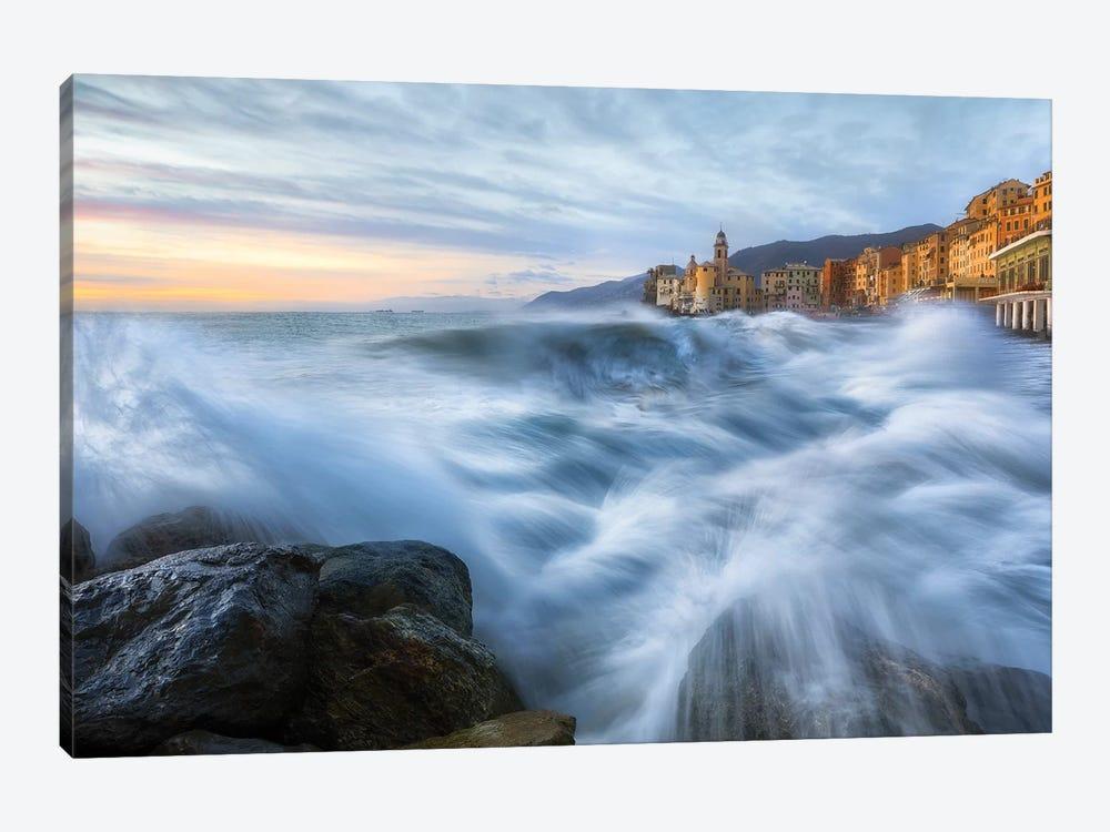 Sea Storm by Fiorenzo Carozzi 1-piece Canvas Print