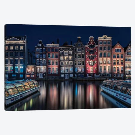 Amsterdam Colors Canvas Print #OXM5128} by Fran Osuna Canvas Artwork