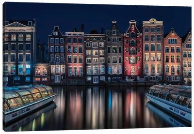 Amsterdam Colors Canvas Art Print