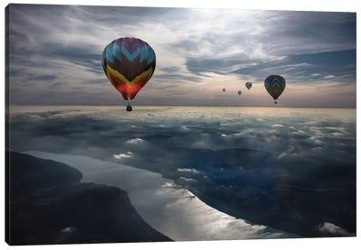 To Kiss The Sky Canvas Art Print