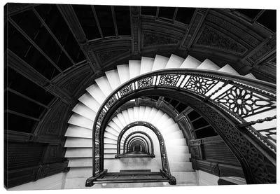 Staircase Canvas Art Print