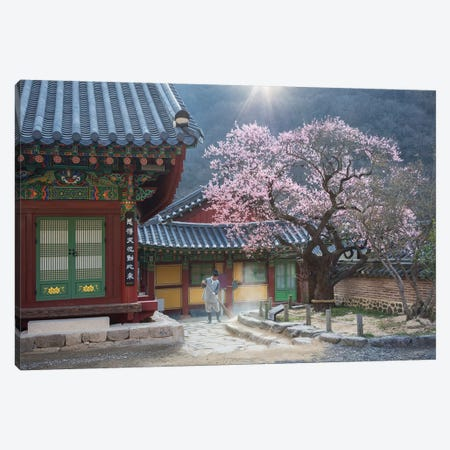 The Scent Of Spring Canvas Print #OXM5184} by Jaeyoun Ryu Canvas Print