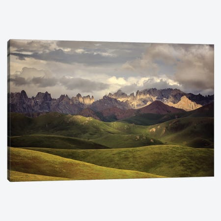 Tibetan Plateau Canvas Print #OXM5187} by James Yu Canvas Art Print