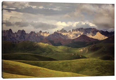 Tibetan Plateau Canvas Art Print