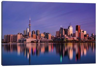 Toronto Sunrise Canvas Art Print