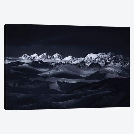 Minya Konka 3-Piece Canvas #OXM5208} by Jingshu Zhu Canvas Art Print