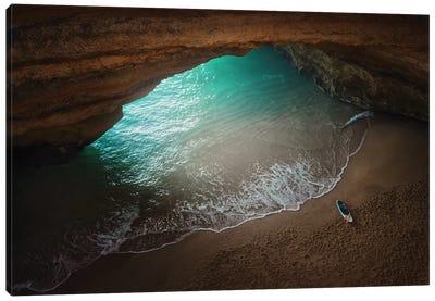 The Secret Cave Canvas Art Print