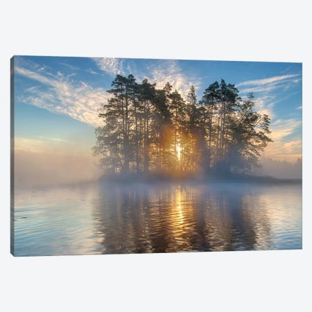 Morning Light Canvas Print #OXM5233} by keller Canvas Wall Art