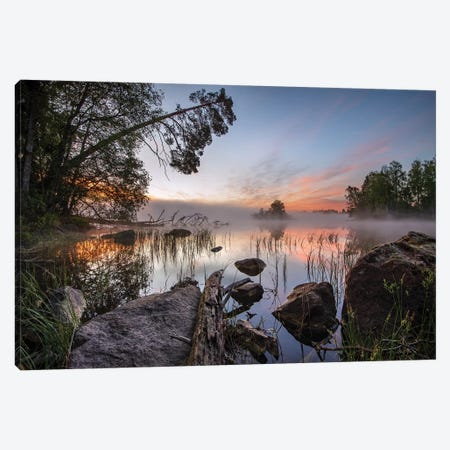 Peaceful Morning Canvas Print #OXM5234} by keller Canvas Art Print