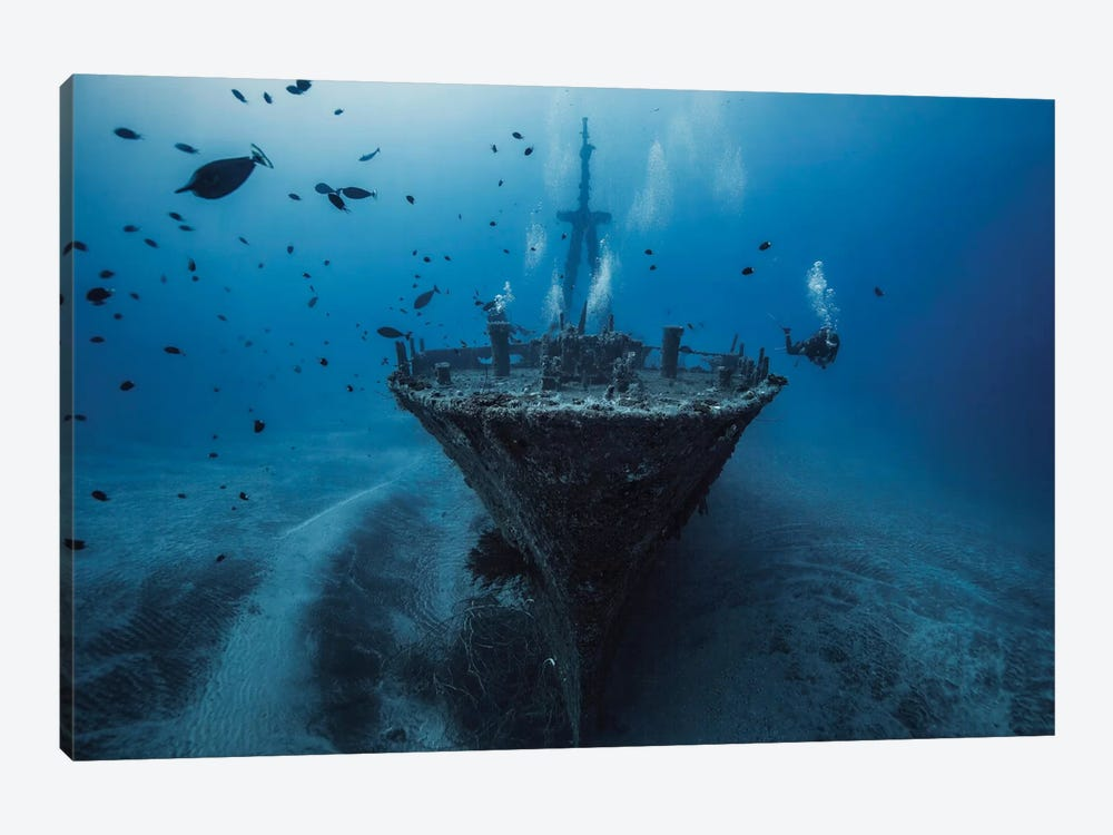 Hai Siang Wreck by Barathieu Gabriel 1-piece Canvas Wall Art