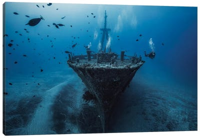 Hai Siang Wreck Canvas Art Print
