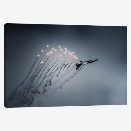 Firestarter Canvas Print #OXM5245} by Leon Canvas Wall Art