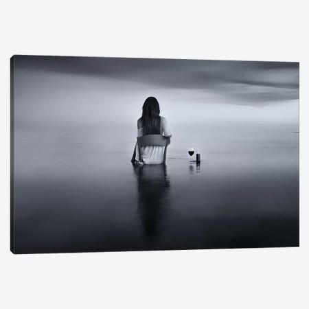 Enjoy The Silence Canvas Print #OXM5264} by Maria Kaimaki Canvas Art