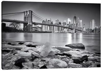 New York - Brooklyn Bridge Canvas Art Print