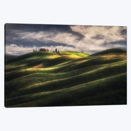 Tuscany Sweet Hills. Canvas Print #OXM5276} by Massimo Cuomo Canvas Art Print