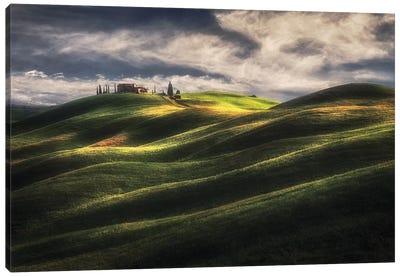 Tuscany Sweet Hills. Canvas Art Print