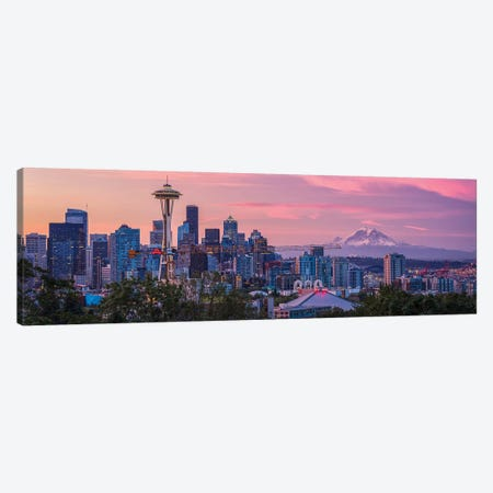 Good Morning, Seattle! Canvas Print #OXM5283} by Michael Zheng Canvas Art Print