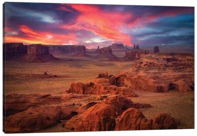 Hunts Mesa Canvas Art Print