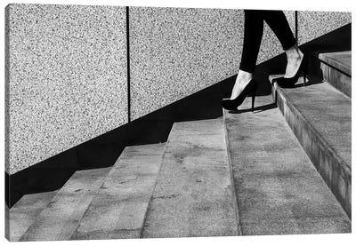 Black And White Canvas Art Print