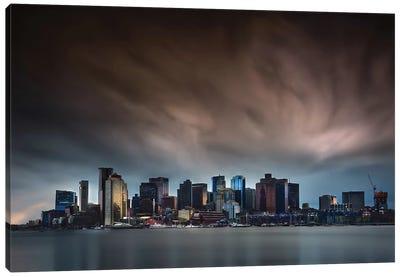 Boston Skyline Canvas Art Print