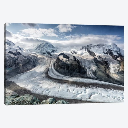 Gornergrat View Canvas Print #OXM5311} by Oskar Baglietto Canvas Art Print