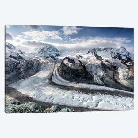 Gornergrat View Canvas Print #OXM5311} by Oskar Baglietto Canvas Art Print