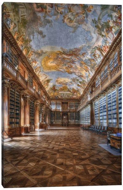 Philosophical Hall Strahov Monastery Canvas Art Print