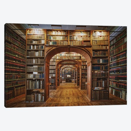 Upper Lausitzian Library Of Sciences Canvas Print #OXM5320} by Patrick Aurednik Canvas Wall Art