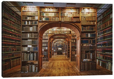 Upper Lausitzian Library Of Sciences Canvas Art Print