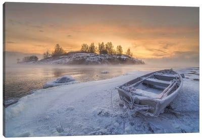 Deep Freeze Canvas Art Print