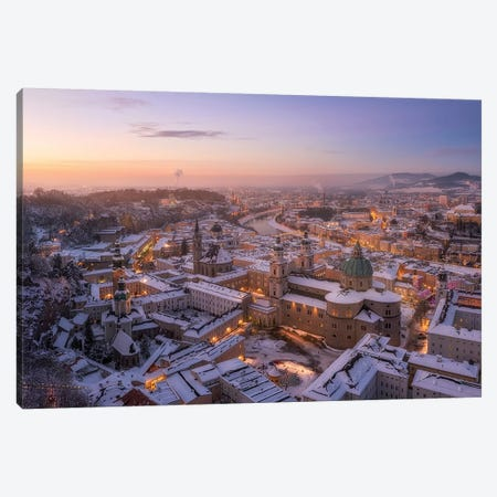 Salzburg Canvas Print #OXM5345} by Richard Vandewalle Canvas Print
