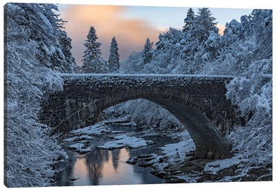 Highlands Bridge Canvas Art Print