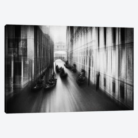 Bridge Of Sighs Canvas Print #OXM5366} by Roswitha Schleicher-Schwarz Art Print