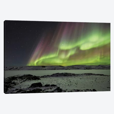 Celestial 3-Piece Canvas #OXM536} by Bragi Ingibergsson Art Print