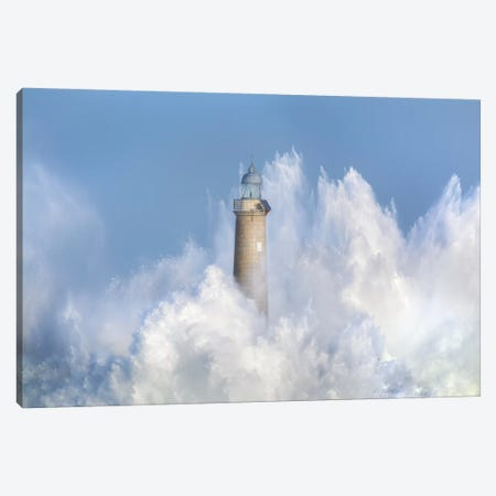 The Power Of The Sea. Canvas Print #OXM5396} by Sergio Saavedra Ruiz Canvas Art