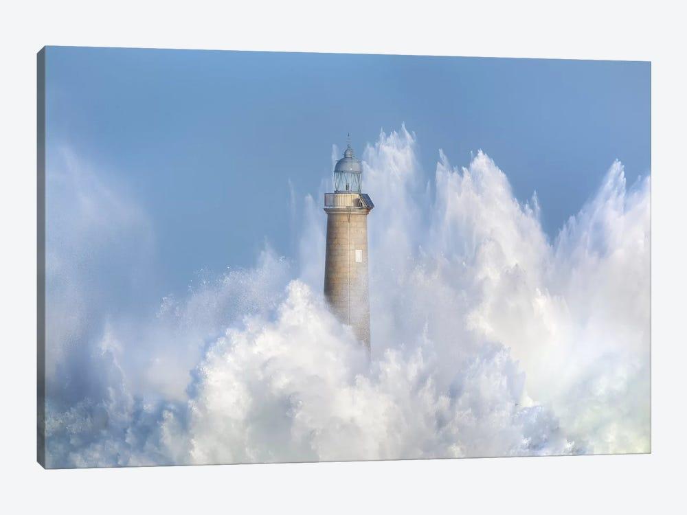 The Power Of The Sea. by Sergio Saavedra Ruiz 1-piece Canvas Art