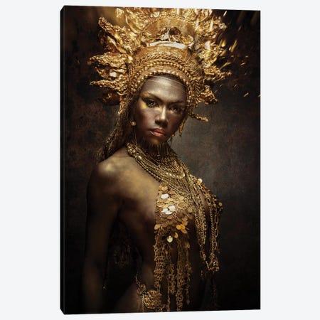 Golden Girl Canvas Print #OXM5401} by Siegart Art Print