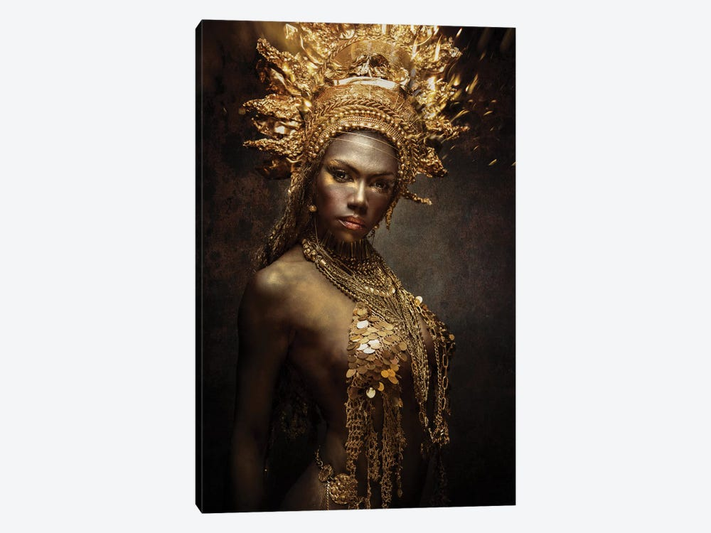 Golden Girl by Siegart 1-piece Canvas Print