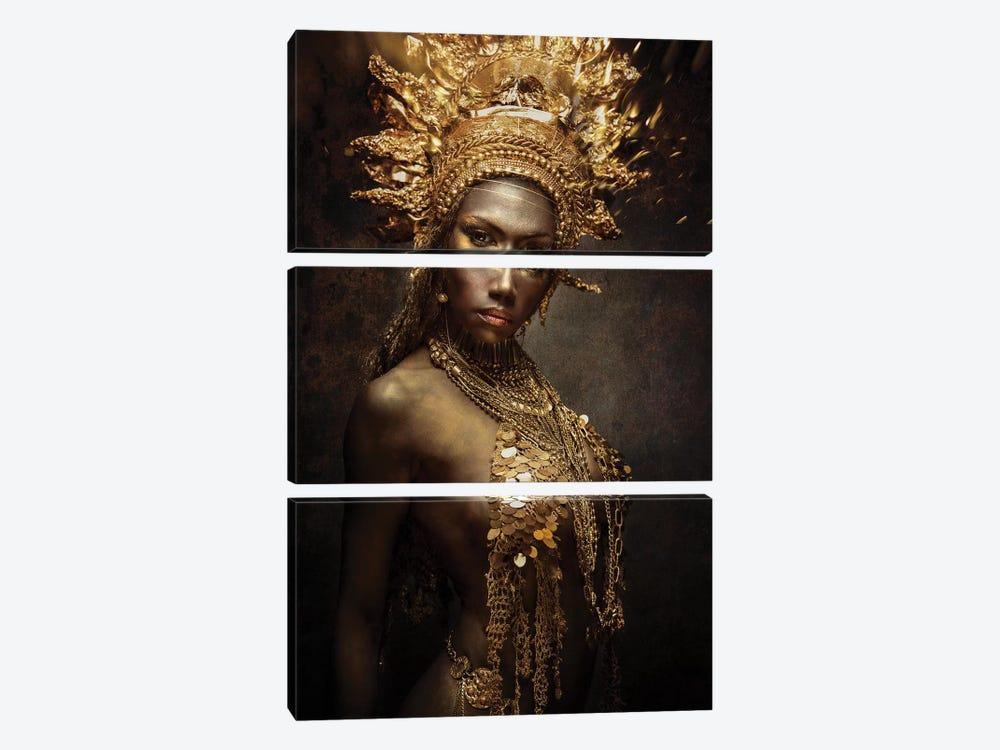 Golden Girl by Siegart 3-piece Art Print