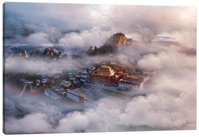 The Hall Of Ling Xiao Canvas Art Print