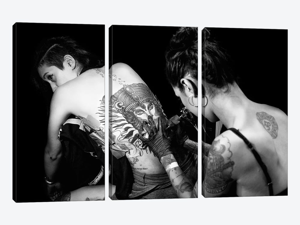 Bodypaint by Tuncay Coşkun 3-piece Art Print