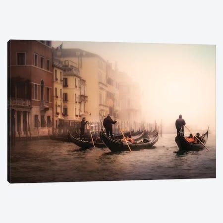 Foggy Venice Canvas Print #OXM5447} by Ute Scherhag Canvas Wall Art