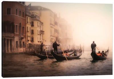 Foggy Venice Canvas Art Print